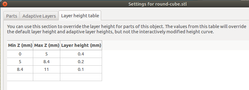 Slic3r Manual – Variable Layer Height
